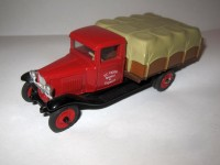 "1:43 Chevrolet Truck 1930 ""V.C. Crozier Carthage Riverdale ILLl"""