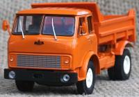 1:43 МАЗ 5549 самосвал (1977) (оранжевый)