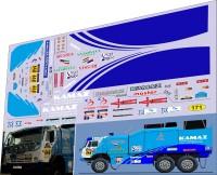 1:43 набор декалей Камский грузовик №648 дакар 2003 быстрая техничка