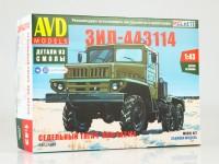1:43 Сборная модель ЗИЛ-443114 седельный тягач
