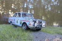 1:43 MOSKVITCH - 412 Stasys Brundza / Viktor Iljin, USSR. WRC Rally 1000 Lakes Finland 1973