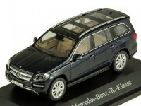 1:43 MERCEDES-BENZ GL500 (Х166) 2012 Cavansitblue Metallic