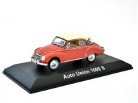 1:43 AUTO UNION 1000S Coupe de Luxe 1958 Red & White