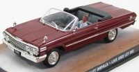 "1:43 CHEVROLET Impala ""Live and Let Die"" 1973 Dark Red"