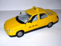 1:43 ВАЗ-2110 такси