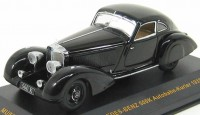 1:43 Mercedes-Benz 500K Autobahn-Kurier (1935) Black with Beige Interiors
