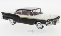 1:43 FORD Fairlane 500 Hardtop 1957 Black/White