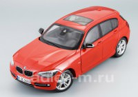1:18 BMW 1 series (F20) (dark red)