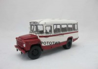 1:43 Курганский автобус 685 (1977) Маршрут «Служебный – ГОК»