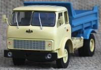 1:43 МАЗ 5549 самосвал (1977) (бежевый с синим)