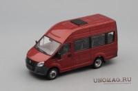 1:43 ГАЗель Next A65R22 пассажирская, темно-красный