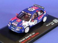 1:43 CITROEN Saxo Kit Car LOEB Sebastien - ELENA Daniel #49 Tour de Corse 1999