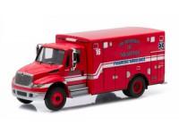 """1:64 INTERNATIONAL Durastar Ambulance """"Fire Departament Memphis"""" 2015"""
