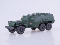 1:43 Бронетранспортёр БТР-152К, зеленый