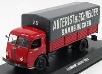 """1:43 PANHARD MOVIC """"Anterist & Schneider Saarbrucken"""" 1952"""