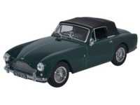 1:43 ASTON MARTIN DB2 MkIII Cabriolet 1958 Dark British Racing Green