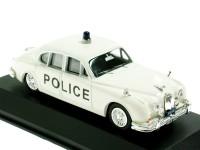 """1:43 JAGUAR MkII """"Bedfordshire Police"""" 1961 Beige"""