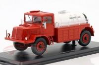 1:43 TATRA 128C бензовоз 4x4 1951 Red/White