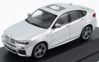 1:43 BMW X4 2015 [с открывающимися элементами] (silver)