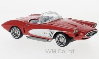 1:43 CHEVROLET Corvette XP-700 Roadster Concept 1959 Red/Silver