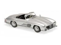 1:43 Mercedes-Benz 300 SL Roadster (W198 II) 1955 (silver)