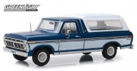 1:18 FORD F-100 Bodyside Accent Panel and Deluxe Box Cover  1975 Midnight Blue Poly