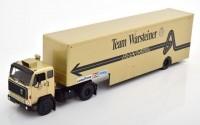 "1:43 VOLVO F89 Race Transporter с полуприцепом ""Warsteiner Arrows Team F1"" 1981"
