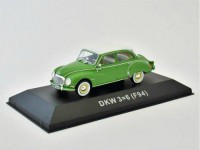 1:43 DKW 3=6 Saloon (F94) 1957 Green & White