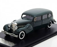"1:43 Duesenberg Model J Bohman & Schwartz Landaulet ""Throne Car"" 1937 Green"