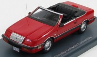 1:43 CHRYSLER LeBaron Convertible 1990 Red