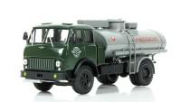"1:43 МАЗ-500 АЦ-8 Цистерна ""Огнеопасно"", зеленый / серый"