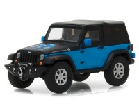 "1:43 JEEP Wrangler 4х4 MOPAR Edition ""The General""  3-дв.(Soft Top) 2010 Blue/Black"
