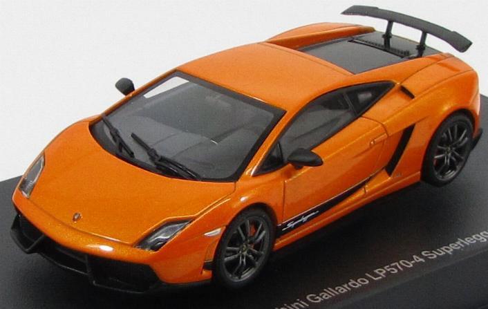 1:43 Lamborghini Gallardo LP570-4 Superleggera 2010 (metallic orange)
