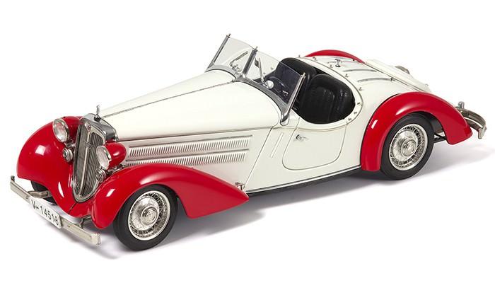 1:18 Audi 225 Front Roadster 1935, L.e. 4000 pcs. (red / white)