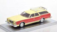 1:43 MERCURY Colony Park 1978 Cream Wood