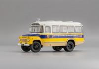 1:43 Курганский автобус 685 (1974) «Передвижной Регистрационно-Экзаменационный Пункт ГАИ»
