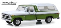 1:18 FORD F-100 Bodyside Accent Panel and Deluxe Box Cover  1976 Medium Green Glow Poly