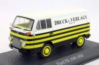 1:43 FORD FK 1000 (фургон) 1956 White/Yellow