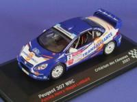 1:43 PEUGEOT 307 WRC Patrick Henry - Magali Lombard Criterium des Cevennes 2007