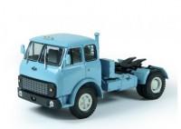 1:43 МАЗ 504В тягач (1977-1982), голубой,белые диски