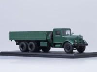 1:43 ЯАЗ-210 бортовой, тёмно-зелёный /металл. рама/