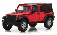 1:43 JEEP Wrangler 4х4 Unlimited Rubicon Recon 5-дв.(Soft Top) 2017 Red