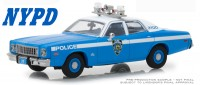 "1:43 PLYMOUTH Fury ""New York City Police Department"" (NYPD) 1975"
