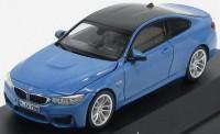 1:43 BMW M4 Coupe (F82) 2014 [с открывающимся капотом] (bluemet.)