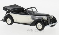 1:43 AUDI 920 Convertible Gläser 1939 Black/White