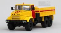 1:43 КрАЗ 260 аварийная (1989-1994) (желтый с красным)