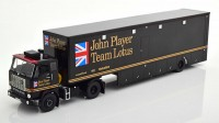 "1:43 VOLVO F88 Race Transporter c полуприцепом ""John Player Team Lotus"" 1972 Black"