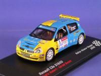 1:43 RENAULT Clio S1600 ROBERT Cédric BEDON Gérald #3 Rallye Alsace Vosges 2006