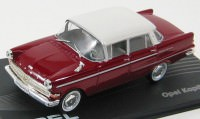 1:43 OPEL KAPITAN P2.6 1959-1965 Dark Red/White