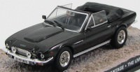 "1:43 ASTON MARTIN V8 Vantage ""The Living Daylights"" 1987 Black"